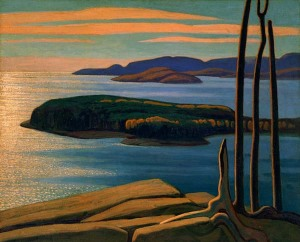 LawrenHarris-Afternoon-Sun-Lake-Superior-1924
