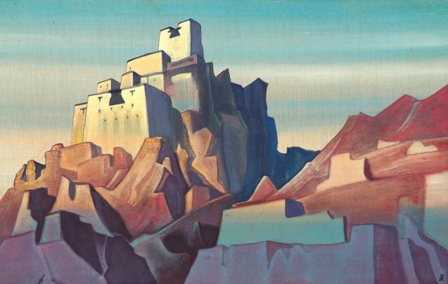 TrekWorld_Nicholas-Roerich_Castle-in-Ladakh-1933