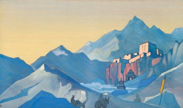 trekworld_nicholas-roerich_path-to-kailas-monastery-1932