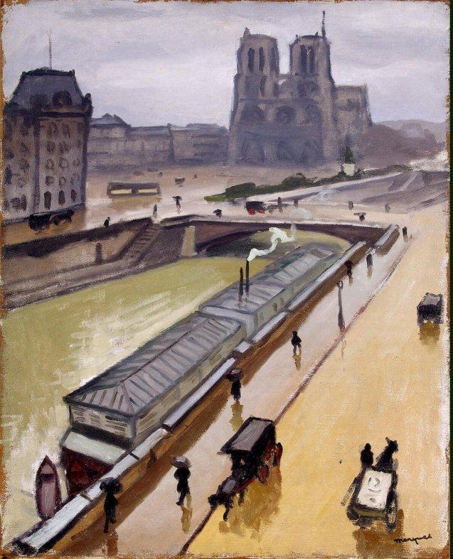 Marquet_Albert-ZZZ-Rainy_Day._Notre_Dame_de_Paris