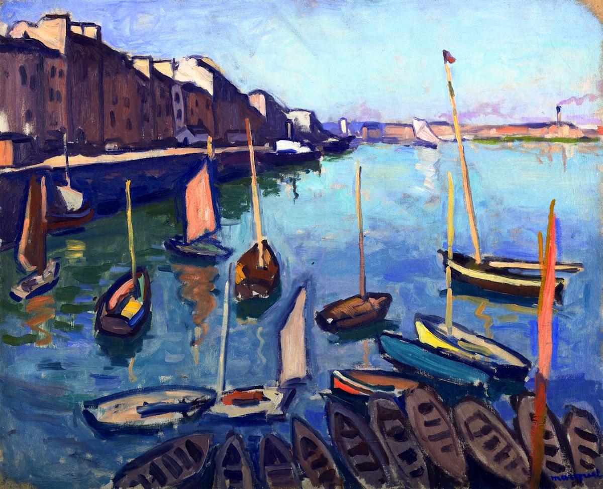 Картинки по запросу albert marquet the port le havre