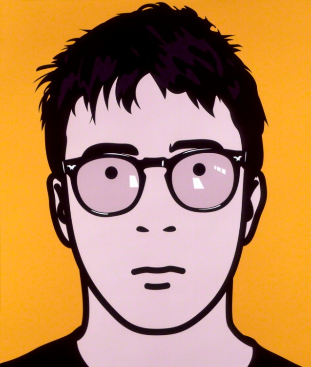 NPG 6593(2); Graham Coxon by Julian Opie