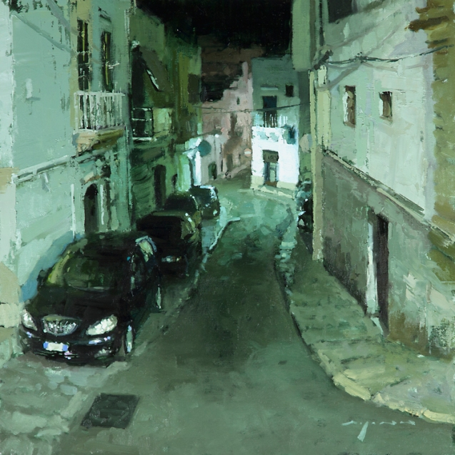 Nocturne 11 Evening Streets of Ostuni