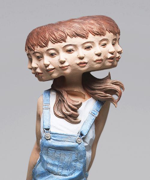 yoshitoshi-kanemaki-wooden-glitch-sculptures-designboom-600